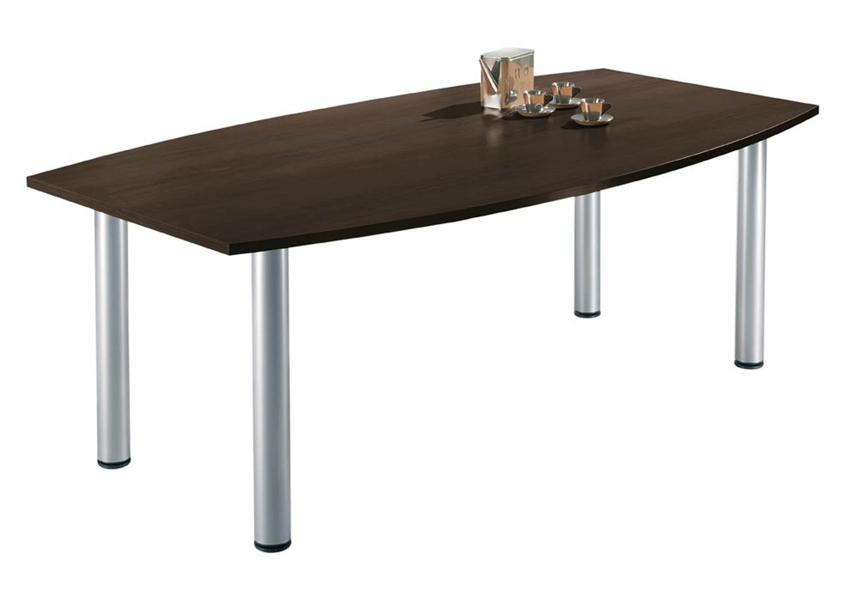 table de r union 4 pieds forme tonneau karina