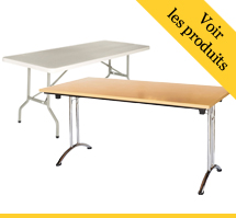Table bureau pliante et table rabattable