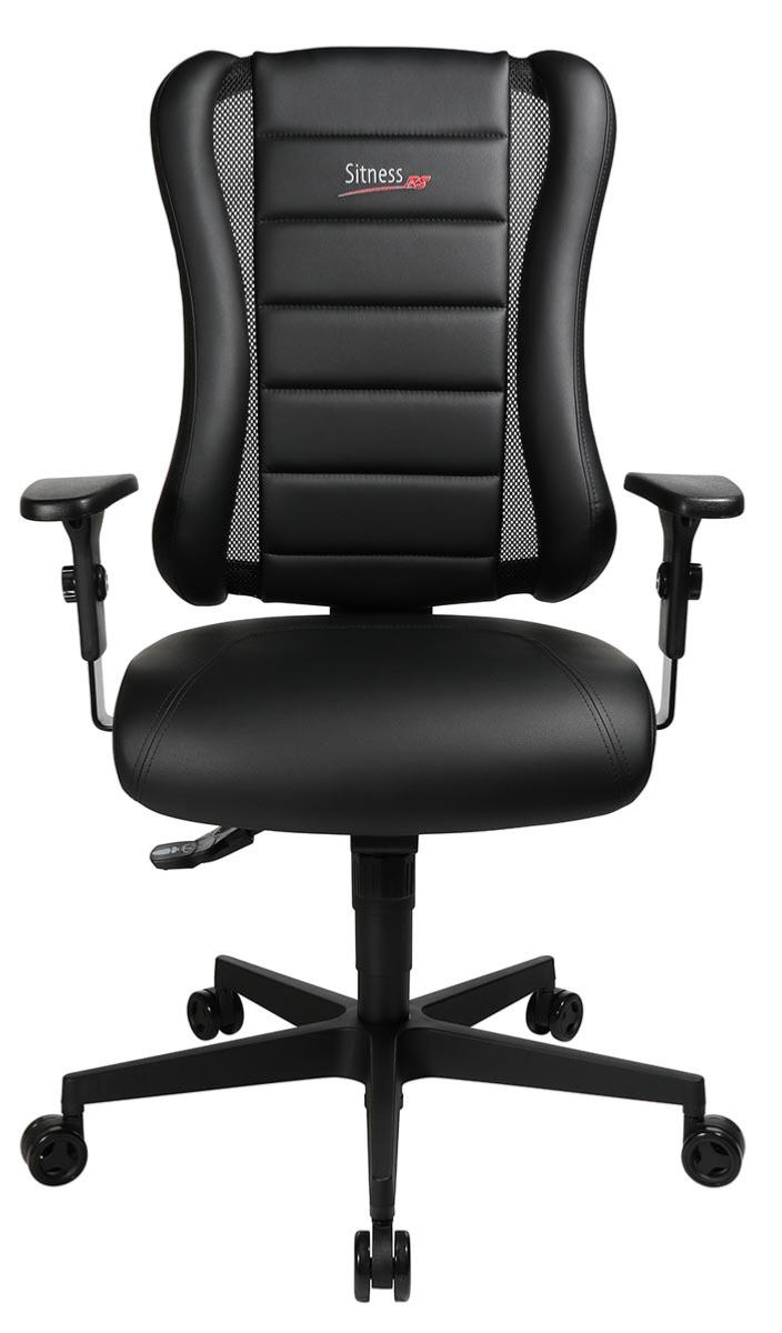 fauteuil de bureau baquet confortable pour utilisation intensive racer. Black Bedroom Furniture Sets. Home Design Ideas