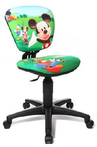 Mickey vert - Chaise enfant Mickey