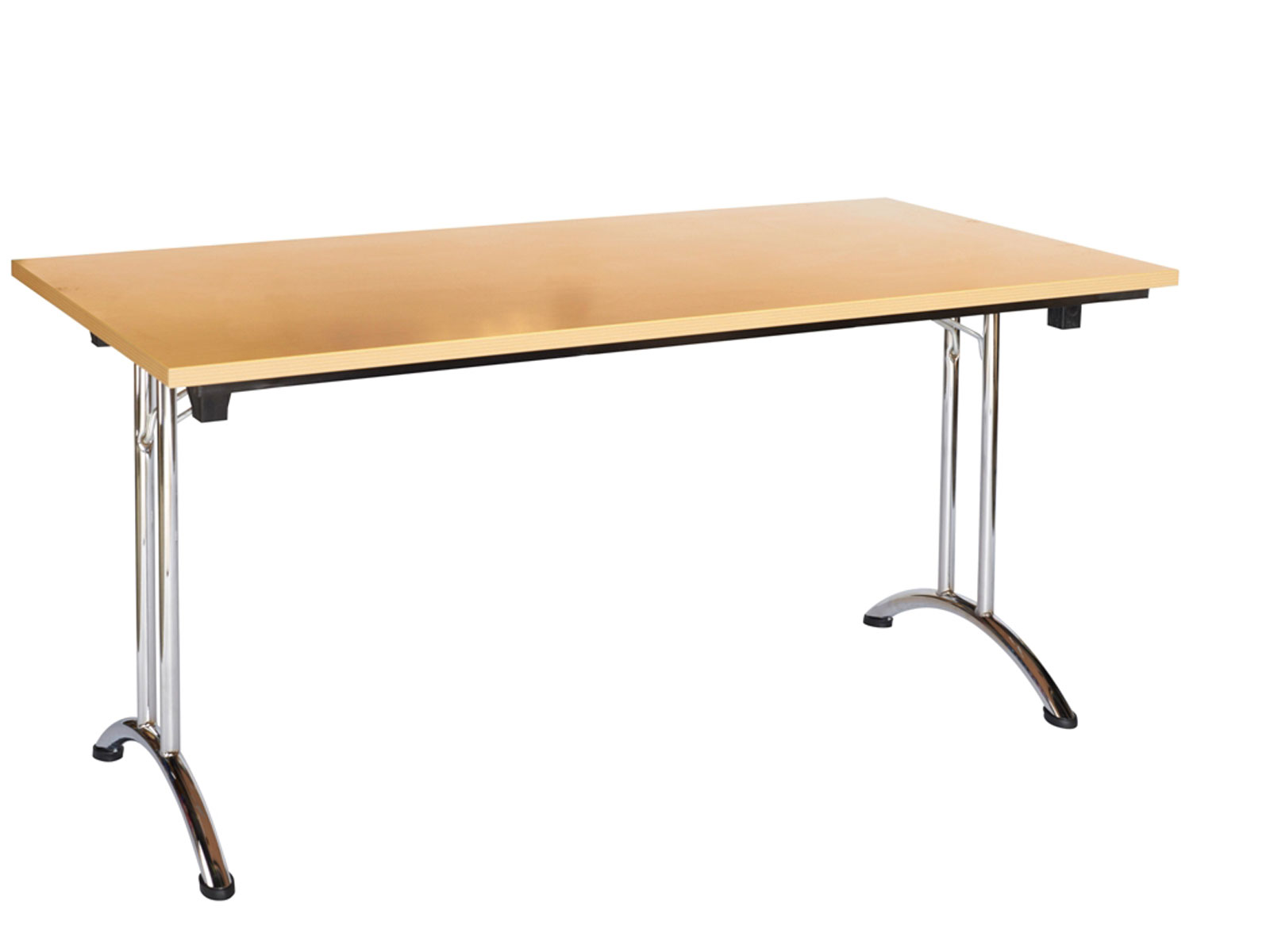 Table pliante couleur h tre dax - Table de bridge pliante ...
