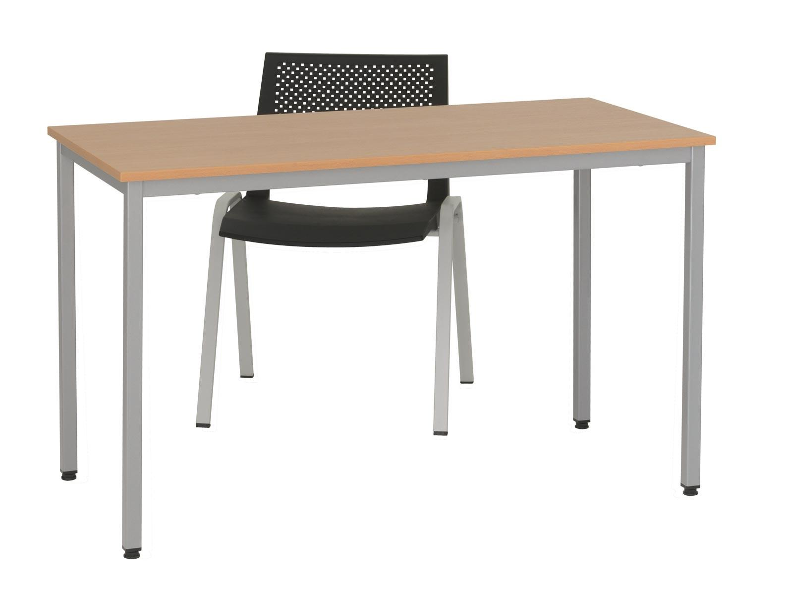 Table de r union 4 pieds eco for Table pied en x