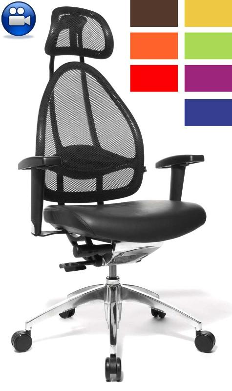 fauteuil de bureau pour le confort du dos fauteuil pour le dos cortex direct si ge. Black Bedroom Furniture Sets. Home Design Ideas