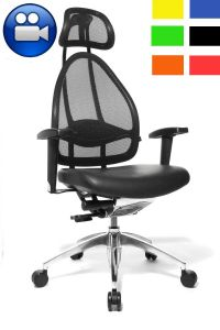fauteuil de bureau special mal de dos cortex. Black Bedroom Furniture Sets. Home Design Ideas