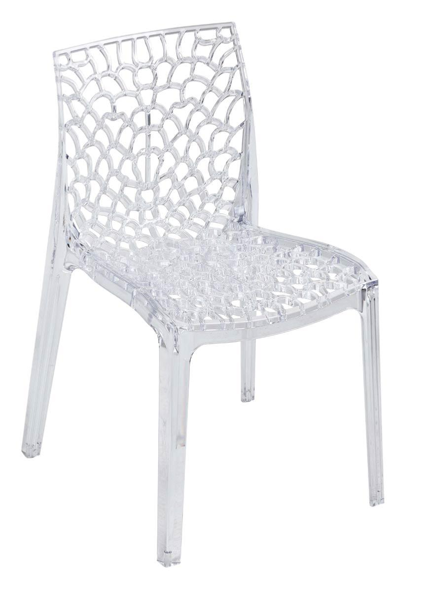 Chaise plastique transparent for Chaise plastique pas cher