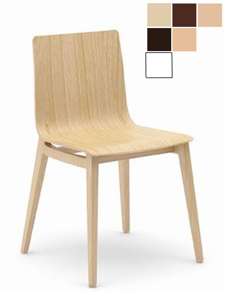 Chaise r union bois yongin - Chaise en bois design ...