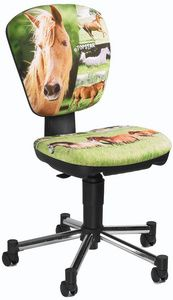 KIDS cheval - Chaise de bureau enfant