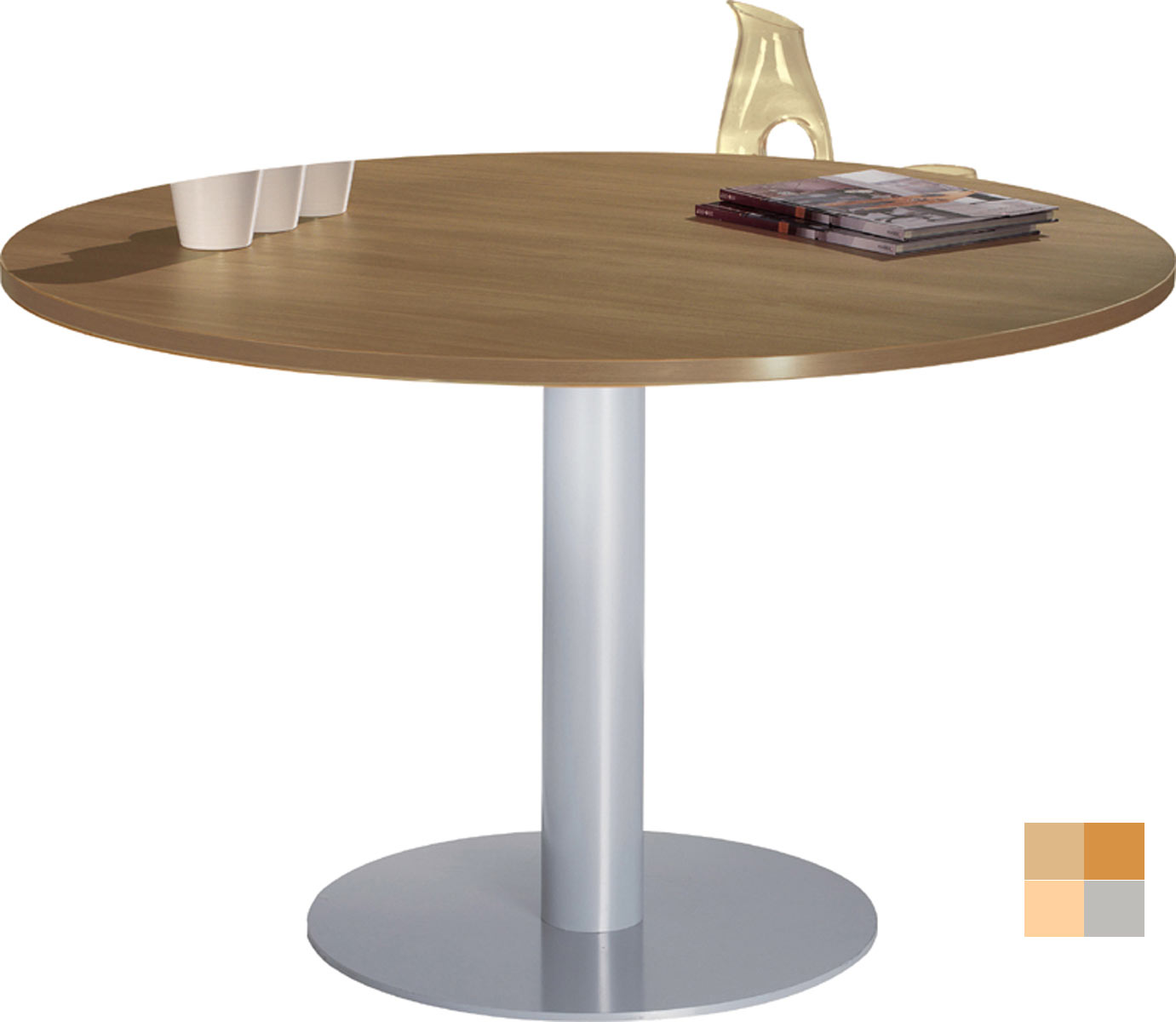 Table ronde for Table ronde de cuisine avec rallonge
