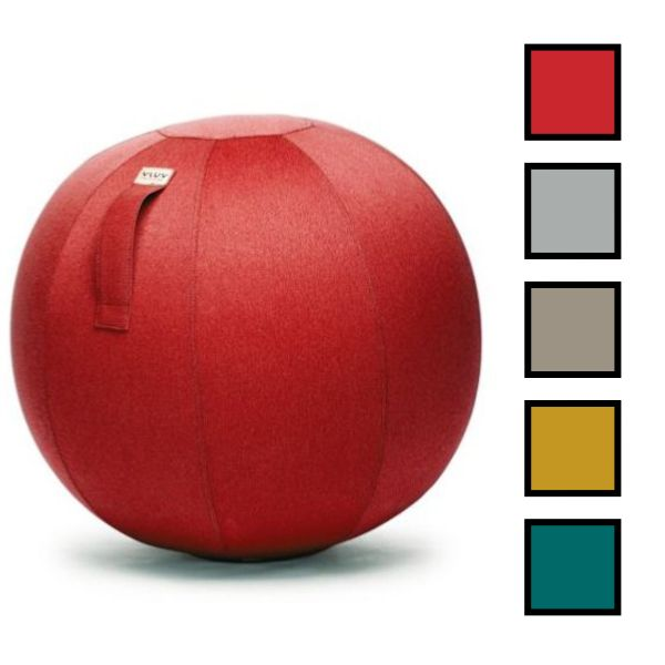 DESKBALL 75 - Ballon d'assise 75CM - Rouge